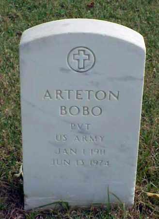BOBO (VETERAN), ARTETON - Pulaski County, Arkansas | ARTETON BOBO (VETERAN) - Arkansas Gravestone Photos