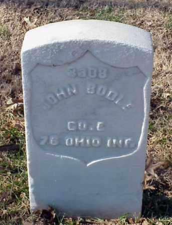BODLE (VETERAN UNION), JOHN - Pulaski County, Arkansas | JOHN BODLE (VETERAN UNION) - Arkansas Gravestone Photos
