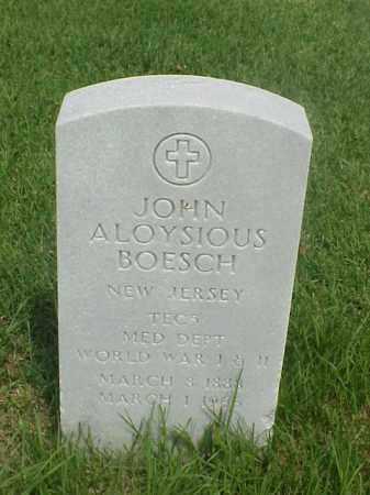 BOESCH (VETERAN 2 WARS), JOHN ALOYSIOUS - Pulaski County, Arkansas   JOHN ALOYSIOUS BOESCH (VETERAN 2 WARS) - Arkansas Gravestone Photos