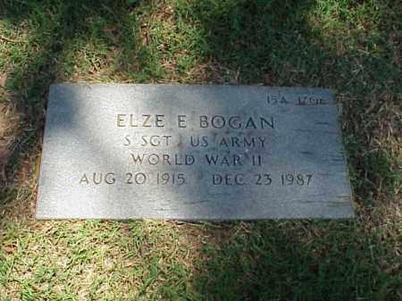 BOGAN (VETERAN WWII), ELZE E - Pulaski County, Arkansas | ELZE E BOGAN (VETERAN WWII) - Arkansas Gravestone Photos