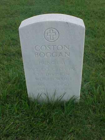BOGGAN (VETERAN WWI), COSTON - Pulaski County, Arkansas | COSTON BOGGAN (VETERAN WWI) - Arkansas Gravestone Photos