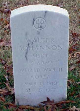 BOHANNON (VETERAN 2 WARS), WALTER - Pulaski County, Arkansas | WALTER BOHANNON (VETERAN 2 WARS) - Arkansas Gravestone Photos