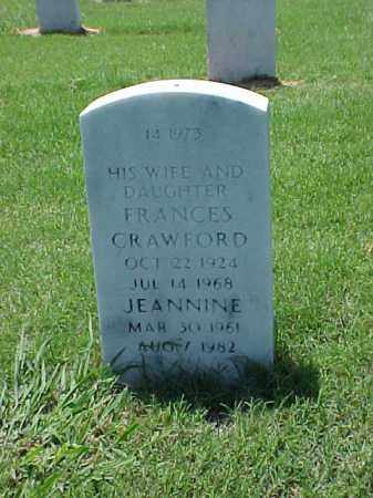 CRAWFORD BOISVERT, FRANCES - Pulaski County, Arkansas | FRANCES CRAWFORD BOISVERT - Arkansas Gravestone Photos