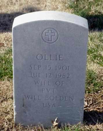 BOLDEN, OLLIE - Pulaski County, Arkansas | OLLIE BOLDEN - Arkansas Gravestone Photos