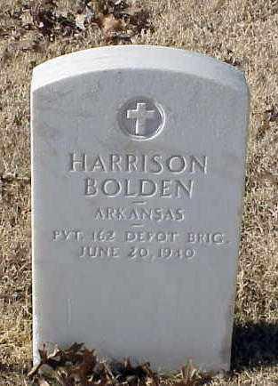 BOLDEN (VETERAN WWI), HARRISON - Pulaski County, Arkansas   HARRISON BOLDEN (VETERAN WWI) - Arkansas Gravestone Photos