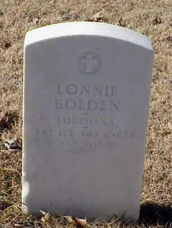BOLDEN (VETERAN WWI), LONNIE - Pulaski County, Arkansas | LONNIE BOLDEN (VETERAN WWI) - Arkansas Gravestone Photos