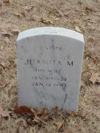 BOLIN, JUANITA M - Pulaski County, Arkansas   JUANITA M BOLIN - Arkansas Gravestone Photos