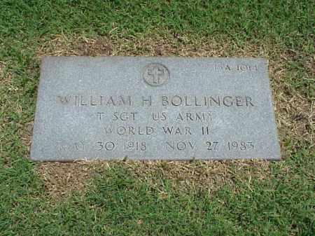 BOLLINGER (VETERAN WWII), WILLIAM H - Pulaski County, Arkansas | WILLIAM H BOLLINGER (VETERAN WWII) - Arkansas Gravestone Photos
