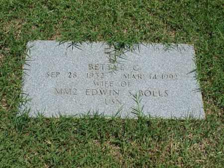 BOLLS, BETTYE G - Pulaski County, Arkansas   BETTYE G BOLLS - Arkansas Gravestone Photos