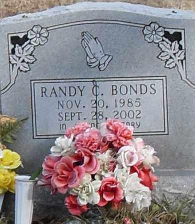 BONDS, RANDY - Pulaski County, Arkansas | RANDY BONDS - Arkansas Gravestone Photos