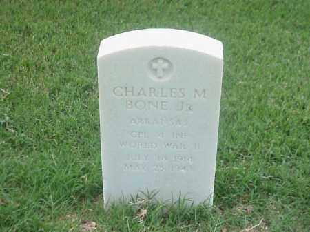 BONE, JR (VETERAN WWII), CHARLES M - Pulaski County, Arkansas | CHARLES M BONE, JR (VETERAN WWII) - Arkansas Gravestone Photos