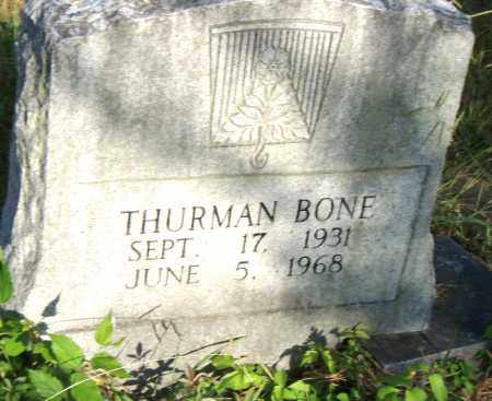 BONE, THURMAN - Pulaski County, Arkansas   THURMAN BONE - Arkansas Gravestone Photos