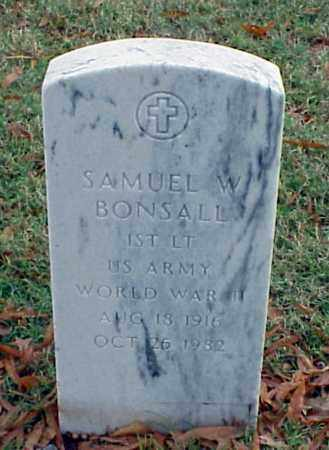 BONSALL (VETERAN WWII), SAMUEL W - Pulaski County, Arkansas | SAMUEL W BONSALL (VETERAN WWII) - Arkansas Gravestone Photos