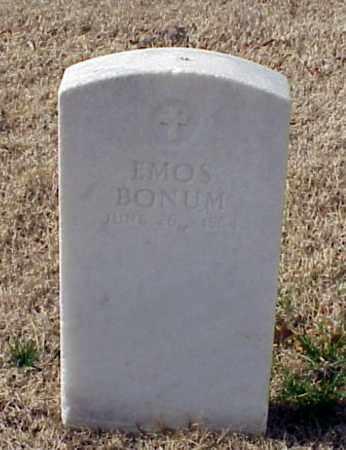 BONUM (VETERAN UNION), EMOS - Pulaski County, Arkansas   EMOS BONUM (VETERAN UNION) - Arkansas Gravestone Photos