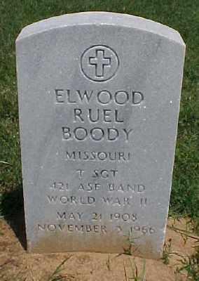 BOODY (VETERAN WWII), ELWOOD RUEL - Pulaski County, Arkansas   ELWOOD RUEL BOODY (VETERAN WWII) - Arkansas Gravestone Photos
