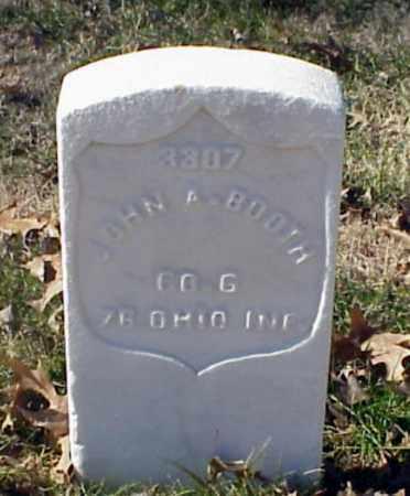 BOOTH (VETERAN UNION), JOHN A - Pulaski County, Arkansas   JOHN A BOOTH (VETERAN UNION) - Arkansas Gravestone Photos