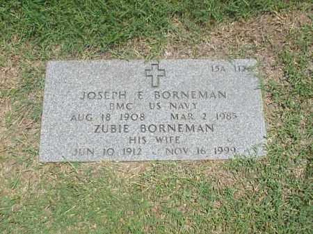 BORNEMAN (VETERAN WWII), JOSEPH E - Pulaski County, Arkansas | JOSEPH E BORNEMAN (VETERAN WWII) - Arkansas Gravestone Photos