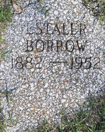BORROW, ESTALER - Pulaski County, Arkansas   ESTALER BORROW - Arkansas Gravestone Photos