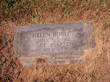 BOSLEY, HELEN - Pulaski County, Arkansas | HELEN BOSLEY - Arkansas Gravestone Photos