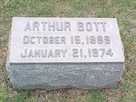 BOTT, ARTHUR - Pulaski County, Arkansas | ARTHUR BOTT - Arkansas Gravestone Photos