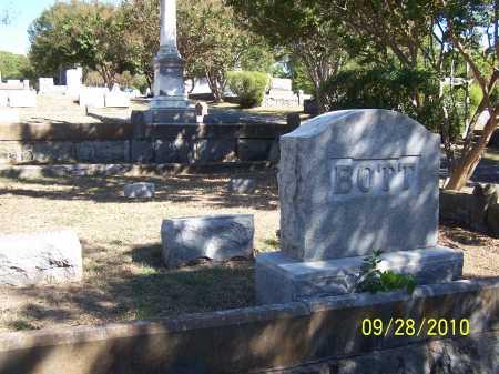 BOTT FAMILY STONE,  - Pulaski County, Arkansas |  BOTT FAMILY STONE - Arkansas Gravestone Photos