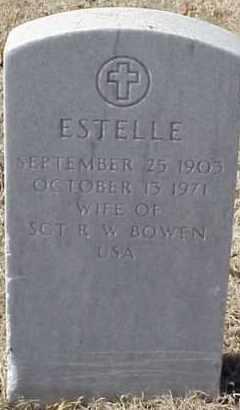 BOWEN, ESTELLE - Pulaski County, Arkansas | ESTELLE BOWEN - Arkansas Gravestone Photos