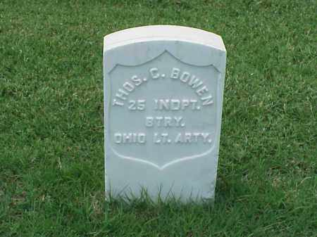BOWEN (VETERAN UNION), THOMAS C - Pulaski County, Arkansas | THOMAS C BOWEN (VETERAN UNION) - Arkansas Gravestone Photos