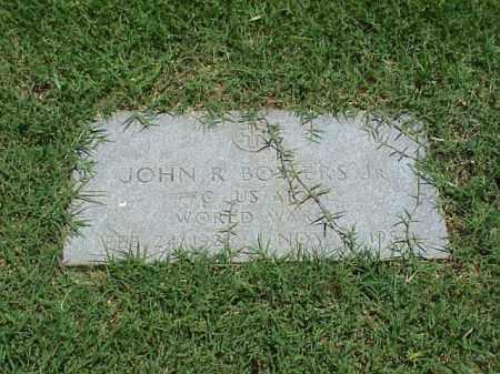 BOWERS, JR (VETERAN WWII), JOHN R - Pulaski County, Arkansas | JOHN R BOWERS, JR (VETERAN WWII) - Arkansas Gravestone Photos