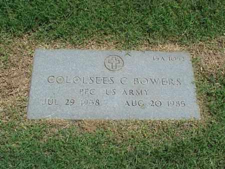 BOWERS (VETERAN), COLOLSEES C - Pulaski County, Arkansas | COLOLSEES C BOWERS (VETERAN) - Arkansas Gravestone Photos