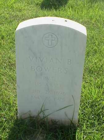 BOWERS (VETERAN WWI), VIVIAN B - Pulaski County, Arkansas | VIVIAN B BOWERS (VETERAN WWI) - Arkansas Gravestone Photos