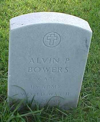 BOWERS (VETERAN WWII), ALVIN P - Pulaski County, Arkansas | ALVIN P BOWERS (VETERAN WWII) - Arkansas Gravestone Photos