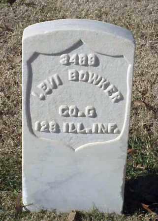 BOWKER (UNION), LEVI - Pulaski County, Arkansas   LEVI BOWKER (UNION) - Arkansas Gravestone Photos