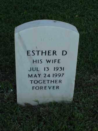 BOWLBY, ESTHER D - Pulaski County, Arkansas | ESTHER D BOWLBY - Arkansas Gravestone Photos