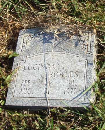 BOWLES, LUCINDA - Pulaski County, Arkansas | LUCINDA BOWLES - Arkansas Gravestone Photos