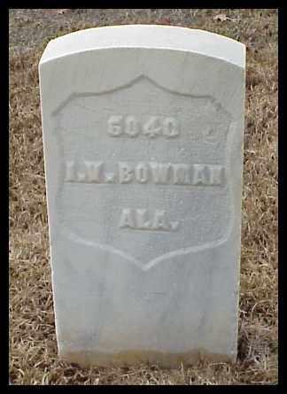 BOWMAN (VETERAN SAW), ISAAC V - Pulaski County, Arkansas | ISAAC V BOWMAN (VETERAN SAW) - Arkansas Gravestone Photos