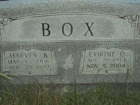 BOX, HARVEY B - Pulaski County, Arkansas   HARVEY B BOX - Arkansas Gravestone Photos