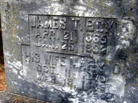 BOX, JAMES THOMAS - Pulaski County, Arkansas | JAMES THOMAS BOX - Arkansas Gravestone Photos