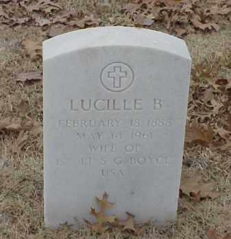 BOYCE, LUCILLE B - Pulaski County, Arkansas | LUCILLE B BOYCE - Arkansas Gravestone Photos