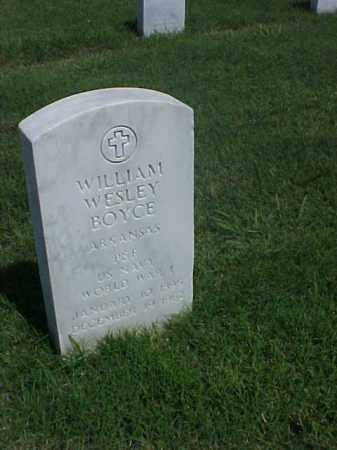 BOYCE (VETERAN WWI), WILLIAM WESLEY - Pulaski County, Arkansas | WILLIAM WESLEY BOYCE (VETERAN WWI) - Arkansas Gravestone Photos