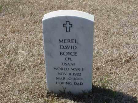 BOYCE (VETERAN WWII), MEREL DAVID - Pulaski County, Arkansas | MEREL DAVID BOYCE (VETERAN WWII) - Arkansas Gravestone Photos