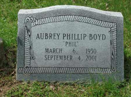 BOYD, AUBREY PHILLIP - Pulaski County, Arkansas   AUBREY PHILLIP BOYD - Arkansas Gravestone Photos