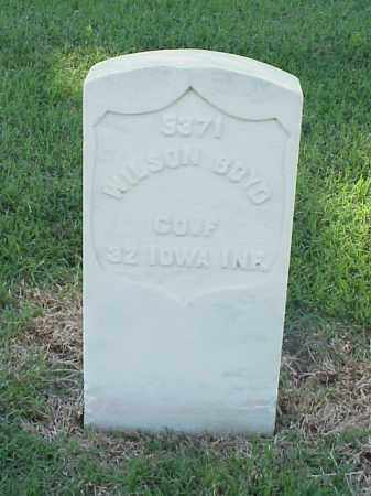 BOYD (VETERAN UNION), WILSON - Pulaski County, Arkansas | WILSON BOYD (VETERAN UNION) - Arkansas Gravestone Photos