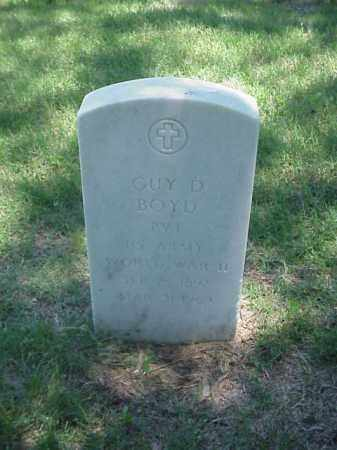 BOYD (VETERAN WWII), GUY D - Pulaski County, Arkansas | GUY D BOYD (VETERAN WWII) - Arkansas Gravestone Photos