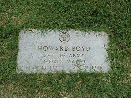 BOYD (VETERAN WWII), HOWARD - Pulaski County, Arkansas | HOWARD BOYD (VETERAN WWII) - Arkansas Gravestone Photos