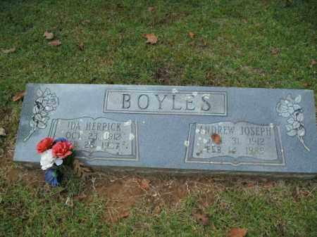 BOYLES, ANDREW JOSEPH - Pulaski County, Arkansas | ANDREW JOSEPH BOYLES - Arkansas Gravestone Photos