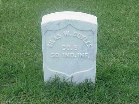 BOYLES (VETERAN UNION), SILAS W - Pulaski County, Arkansas | SILAS W BOYLES (VETERAN UNION) - Arkansas Gravestone Photos