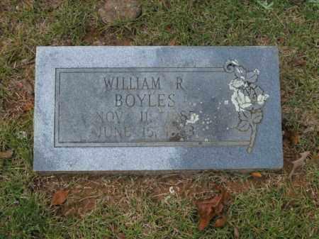 BOYLES, WILLIAM R - Pulaski County, Arkansas   WILLIAM R BOYLES - Arkansas Gravestone Photos