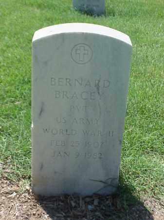 BRACEY (VETERAN WWII), BERANRD - Pulaski County, Arkansas | BERANRD BRACEY (VETERAN WWII) - Arkansas Gravestone Photos