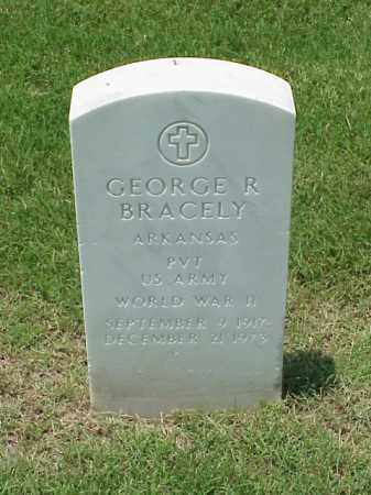 BRACLEY (VETERAN WWII), GEORGE R - Pulaski County, Arkansas   GEORGE R BRACLEY (VETERAN WWII) - Arkansas Gravestone Photos