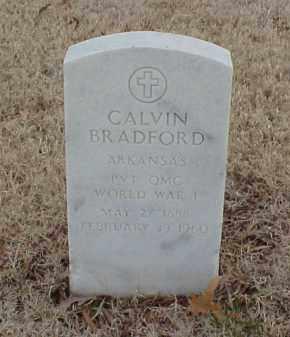 BRADFORD  (VETERAN WWI), CALVIN - Pulaski County, Arkansas   CALVIN BRADFORD  (VETERAN WWI) - Arkansas Gravestone Photos